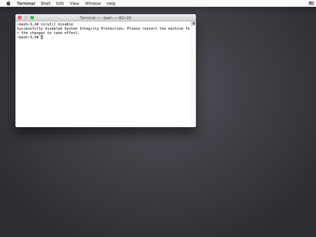 System Item Setup in OS X El Capitan | Bartender 3